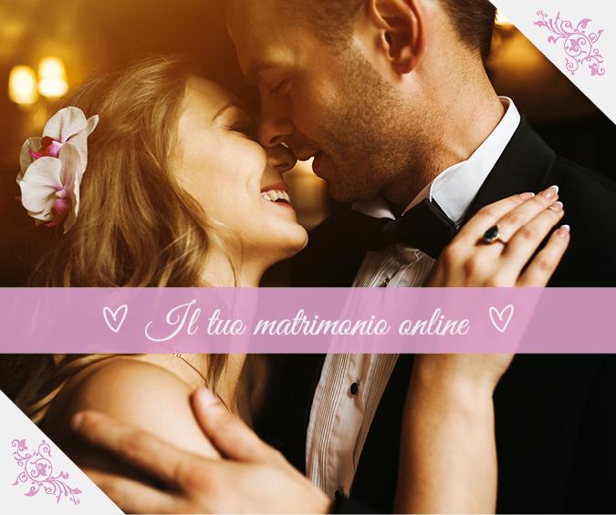 Il tuo matrimonio online!